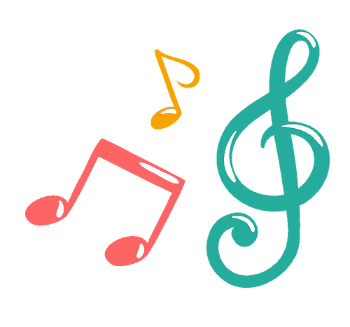 Music Notes Wiggle and Giggle Icon