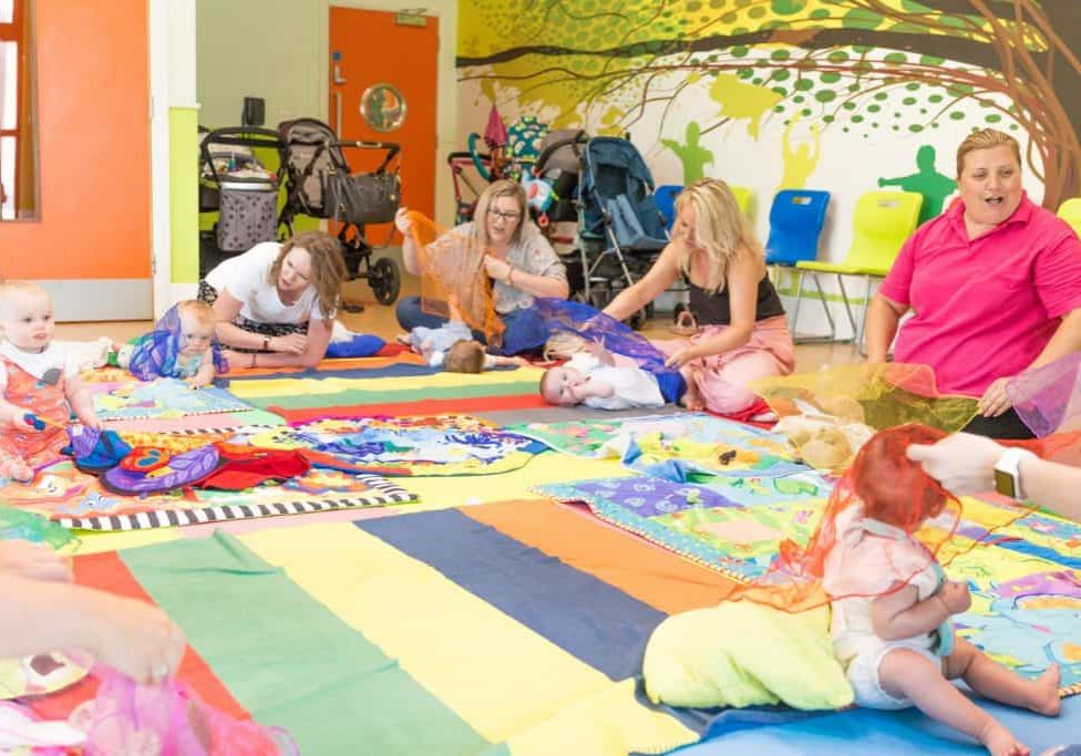Sensory Baby Wiggle and Giggle Class with Tamzin